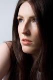 Mulher com cabelo bonito Imagens de Stock Royalty Free