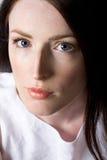 Mulher com cabelo bonito Imagens de Stock