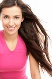 Mulher com cabelo do vôo imagem de stock royalty free