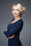 Mulher com cabelo louro Imagens de Stock Royalty Free