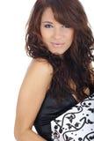 Mulher com caixa do GIF Imagens de Stock Royalty Free