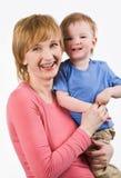 Mulher com criança Foto de Stock