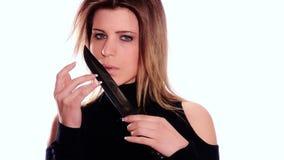 Mulher com faca filme