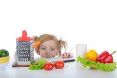 Mulher com fome Fotos de Stock Royalty Free
