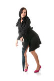 Mulher com guarda-chuva Imagem de Stock