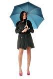 Mulher com guarda-chuva Fotografia de Stock