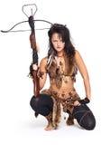 Mulher com mais arbalest Fotografia de Stock Royalty Free