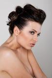 Mulher com ombros desencapados fotos de stock royalty free