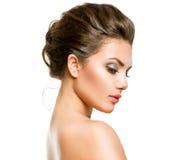 Mulher com pele fresca limpa Fotos de Stock Royalty Free