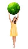 Mulher com potência fotos de stock royalty free