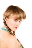 Mulher com tranças Foto de Stock
