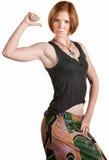 Mulher confiável do ajuste Fotografia de Stock
