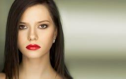 Mulher confiável 'sexy' do retrato Fotos de Stock