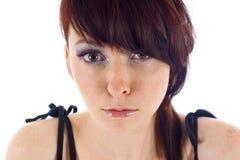 Mulher confusa Fotografia de Stock