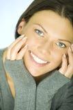 Mulher consideravelmente feliz dos jovens Fotos de Stock Royalty Free