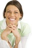 Mulher consideravelmente feliz dos jovens Fotografia de Stock Royalty Free