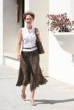 Mulher consideravelmente madura Fotos de Stock