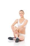 Mulher da aptidão Foto de Stock Royalty Free