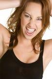 Mulher da atitude Fotografia de Stock