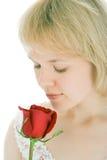 Mulher da beleza Imagem de Stock