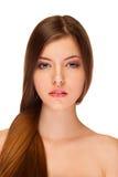 Mulher da beleza com pele saudável Fotografia de Stock