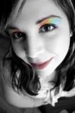 Mulher da composição do arco-íris Fotos de Stock