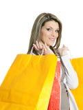 Mulher da compra Foto de Stock Royalty Free