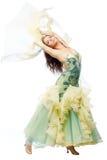 Mulher da dança Foto de Stock