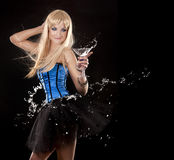 Mulher da dança Imagens de Stock Royalty Free