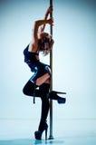 Mulher da dança de Polo Imagem de Stock