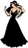 Mulher da elegância Fotografia de Stock Royalty Free