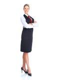 Mulher da empregada de mesa Fotos de Stock Royalty Free