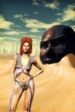 Mulher da fantasia Fotografia de Stock Royalty Free