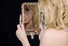 Mulher da forma Imagens de Stock Royalty Free
