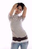 Mulher da forma Fotos de Stock Royalty Free