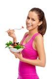 Mulher da salada fotos de stock royalty free