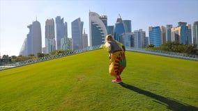Mulher da skyline de Doha filme