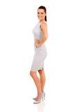 Mulher da vista lateral Imagens de Stock Royalty Free