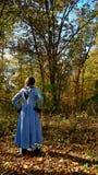 Mulher das florestas - Michigan puro Imagem de Stock Royalty Free