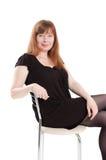 Mulher de assento Imagem de Stock Royalty Free