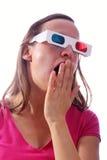 Mulher de bocejo Fotografia de Stock Royalty Free