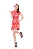 Mulher de Cheongsam Fotos de Stock Royalty Free