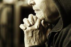Mulher de Eldery Fotos de Stock Royalty Free