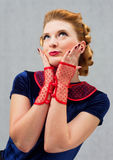 Mulher de Flirty Fotos de Stock Royalty Free