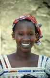 Mulher de Fulani, Senossa, Mali Fotografia de Stock