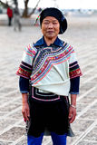 Mulher de Hani, China Fotografia de Stock Royalty Free