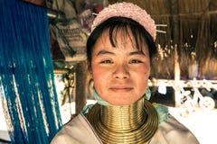 Mulher de Kayan Imagem de Stock Royalty Free