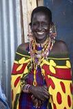 Mulher de Maasai Foto de Stock