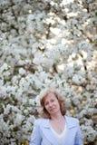 Mulher de meia idade Imagem de Stock Royalty Free