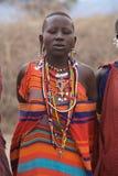 Mulher de Msai Imagens de Stock Royalty Free